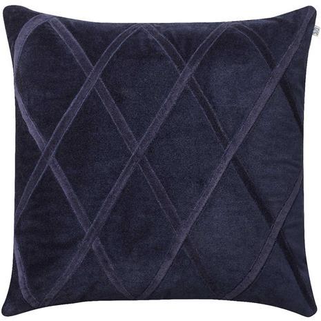 Chhatwal & Jonsson Orissa Cushion Cover 50x50 cm, Navy