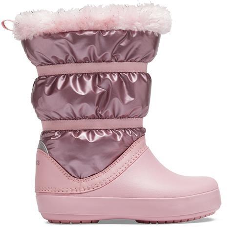 CROCS CB Lodgep Metallic Boot Girls lasten talvikengät