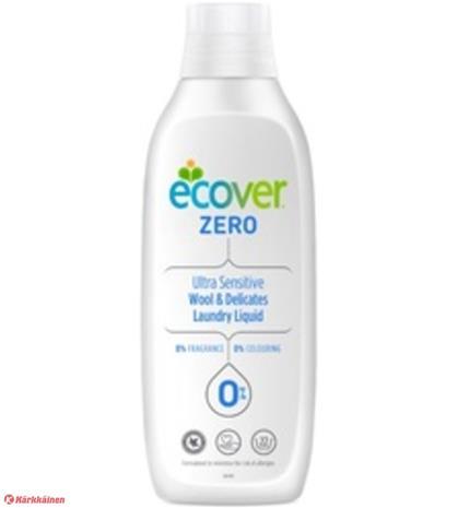 Ecover Zero 1 l villa- ja hienopesuaine