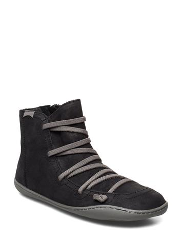 Camper Peu Cami Shoes Boots Ankle Boots Ankle Boots Flat Heel Musta Camper BLACK