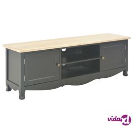 vidaXL TV-taso musta 120x30x40 cm puu