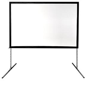 """Multibrackets Fast-fold Projection Screen (jalusta) 120"""" 16:10 258 x 161, valkokangas"""