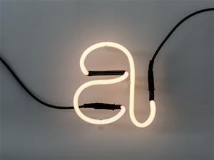 Seletti Neon Art Alphabet kirjain A