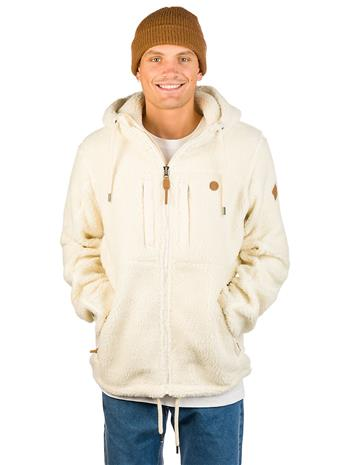 Kazane Gateway Sherpa Zip Hoodie oatmeal heather Miehet