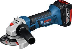 Bosch GWS 18 V-LI Professional (060193A304) 18V 2x4,0Ah L-BOXX, akkukulmahiomakone