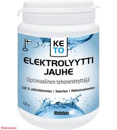 Vitabalans Keto elektrolyyttijauhe 120 g ravintolisä
