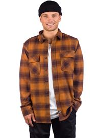 Dickies Waneta Shirt brown duck Miehet