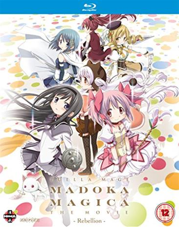 Puella Magi Madoka Magica The Movie: Osa 3 - Rebellion (Blu-Ray), elokuva
