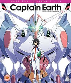 Captain Earth: Osa 1 (Blu-Ray), TV-sarja