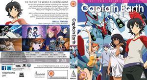 Captain Earth: Osa 2 (Blu-Ray), TV-sarja