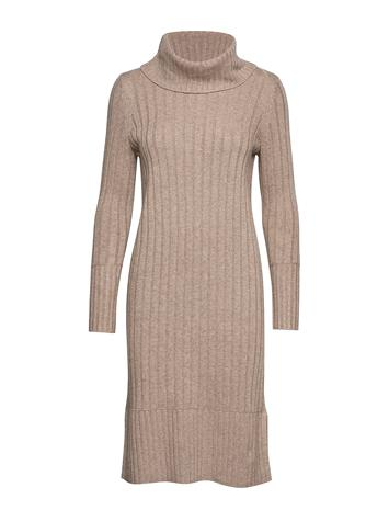 Esprit Casual Dresses Flat Knitted Neulemekko Ruskea Esprit Casual TAUPE 5