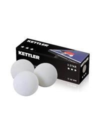 Kettler Table Tennis Balls x3