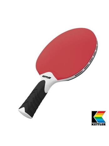 Kettler Table Tennis bat. Red/black
