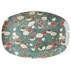 RICE Melamine Plate 22x30 cm, Autumn flowers