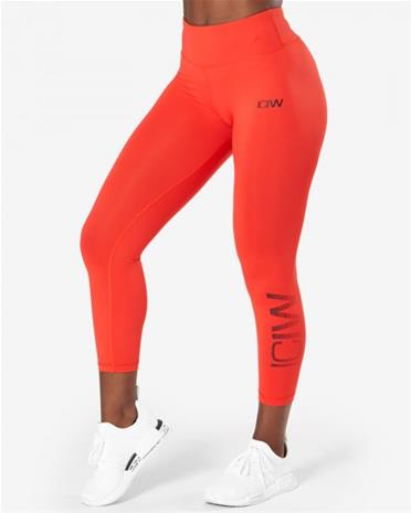 ICANIWILL Classic Tights 7/8, vivid red