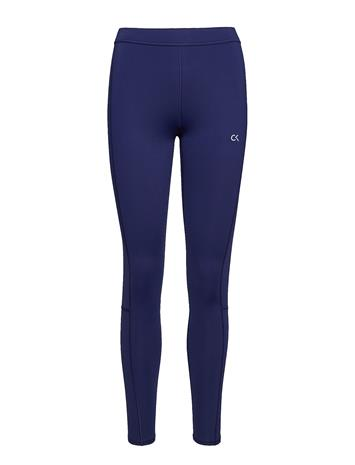Calvin Klein Performance Full Length Tight, 0 Running/training Tights Sininen Calvin Klein Performance CK BLACK