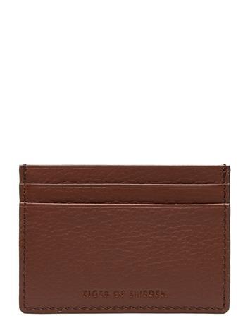 TIGER OF SWEDEN Wake Bags Wallets Cardholder Ruskea TIGER OF SWEDEN COGNAC