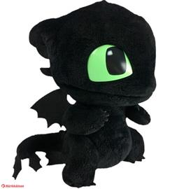 Dragons Action Squeeze and Roar Toothless plush