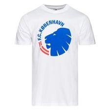 FC Kööpenhamina T-paita FCK logo - Valkoinen