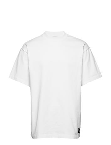 Dr. Denim Major Tee T-shirts Short-sleeved Musta Dr. Denim BLACK