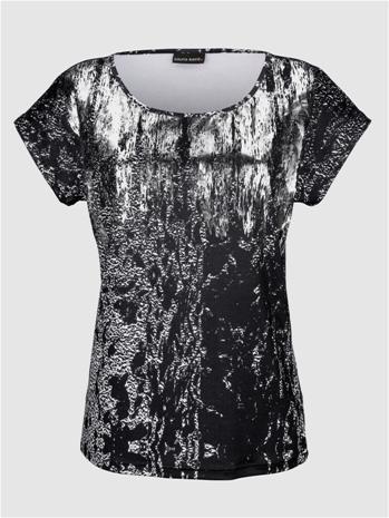 """Laura Kent"""" """"Holkkihihallinen paita Musta::Hopeanvärinen"""