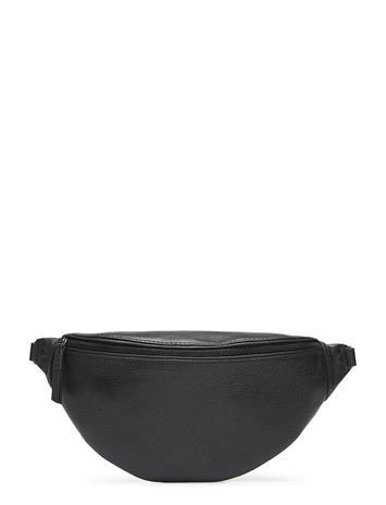 MARKBERG Elinor Bum Bag, Grain Bumbag Vyölaukku Laukku Musta MARKBERG BLACK W/BLACK