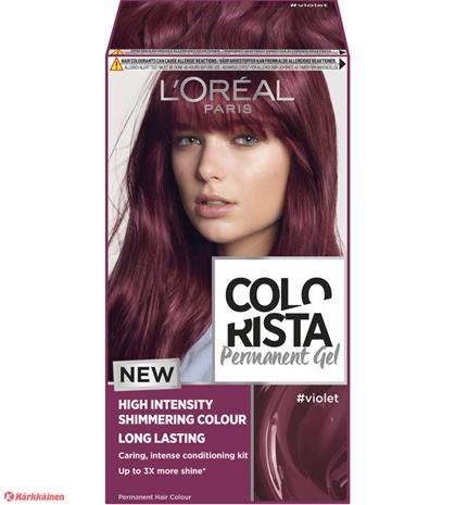 Colorista Permanent Gel #Violet kestoväri