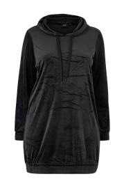 "Zizzi ""Veluurimekko mHelena L/S Sweat Dress"""