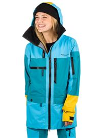 Peak Performance Vertical Jacket deep aqua Naiset