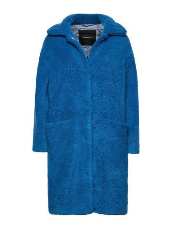 Peak Performance Teddy C Outerwear Faux Fur Sininen Peak Performance BLUE GLOW