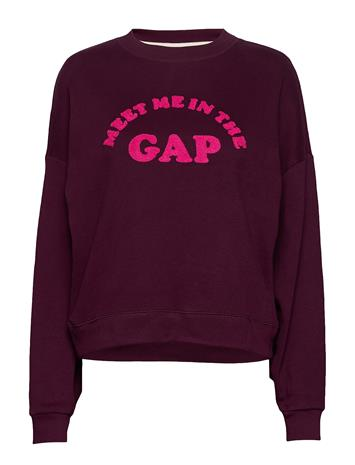 GAP Gap Meet Me Po Svetari Collegepaita Liila GAP SECRET PLUM