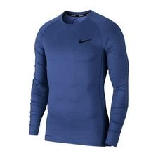 Nike Pro Compression Top - Navy/Musta
