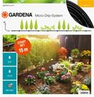 Gardena Micro-Drip (13010-20) S (15 m), maanpäällinen tippukasteluletkusarja Gardena