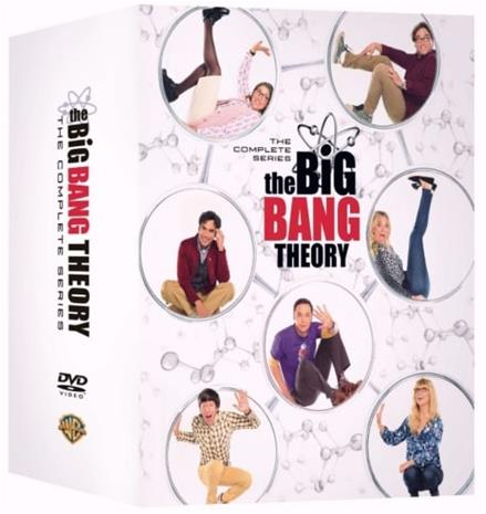 Rillit huurussa (The Big Bang Theory): Kaudet 1-12, TV-sarja