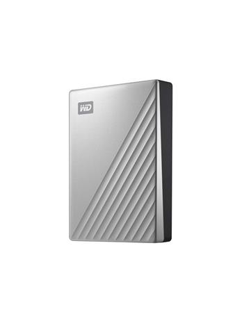 WD My Passport Ultra (4 TB, USB-C) WDBFTM0040BSL, ulkoinen kovalevy