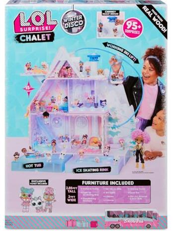 L.O.L. Surprise Chalet- Winter Disco Nyt hus!