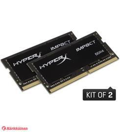 32 GB, 2666 MHz SO-DIMM DDR4 (2 x 16 GB kit), keskusmuisti