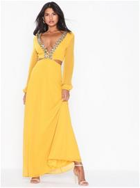 NLY Eve Embellished Flowy Gown