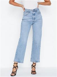Levis Ribcage Straight Ankle Tango L