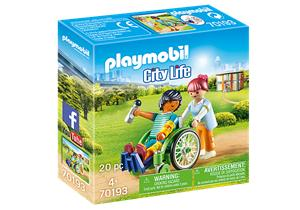 Playmobil City Life 70193, Patient in Wheelchair