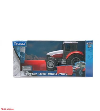 1:48 traktori lumiauralla