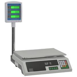 vidaXL Elektroninen pakettivaaka LCD-näytöllä 30 kg