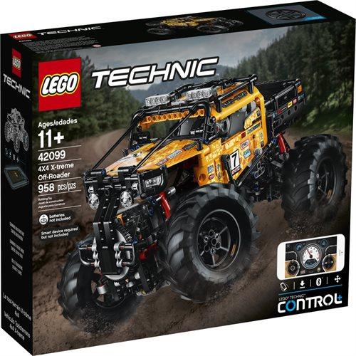 4X4 Off Road >> Lego Technic 42099 Radio Ohjattava X Treme Maasturi 4x4 X Treme Off Roader