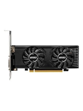 MSI GeForce GTX 1650 4GT LP OC 4 GB, PCI-E, näytönohjain