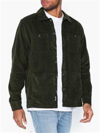 Only & Sons onsLEO Ls Heavy Corduroy Overshirt T-paidat ja topit Tummanvihreä