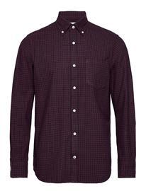 NN07 Levon Shirt 5064 Paita Rento Casual Punainen NN07 RED CHECK