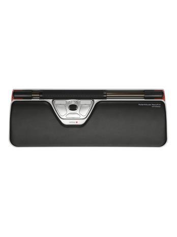 Contour Design Rollermouse Red Plus WL Travel Kit (RM-RED PLUS-WL-TK), näppäimistö, hiiriohjain ja kannettavan teline