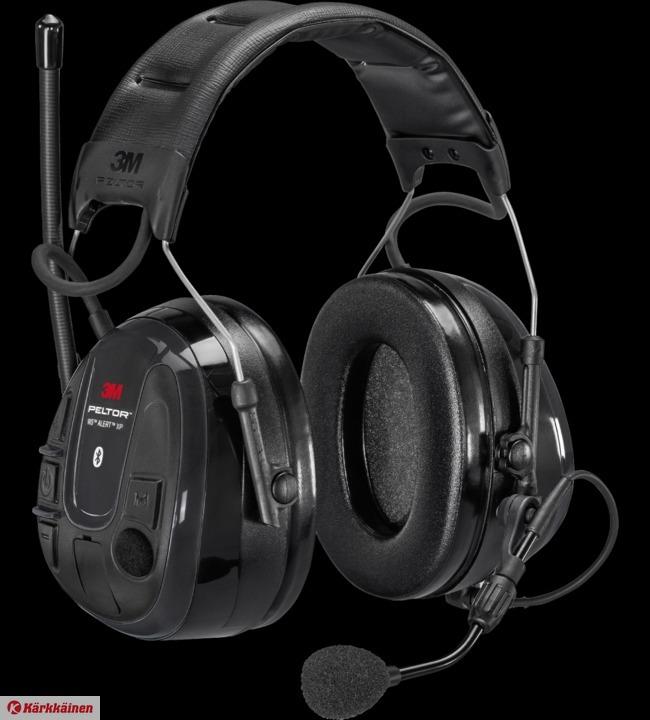 3M Peltor WS Alert XP WS6 ACK bluetooth sis. akut ja laturi