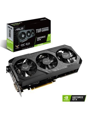 ASUS GeForce GTX 1660 SUPER TUF Gaming OC 6 GB, PCI-E, näytönohjain