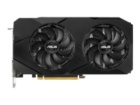 ASUS GeForce GTX 1660 SUPER Dual Advanced EVO 6 GB, PCI-E, näytönohjain